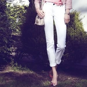 Kut from the cloth white diana skinny jeans